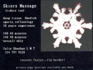 Skiiers Massage