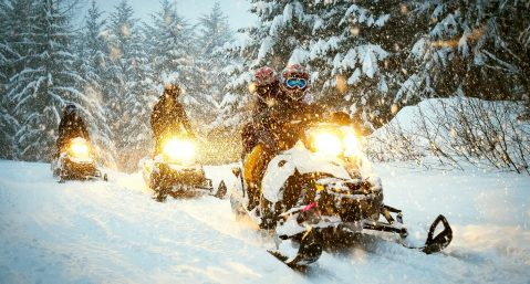 Learn more about our favorite Park City snowmobile tours.