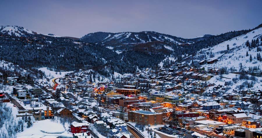 skiiable town